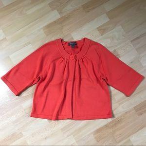 Josephine Chaus 3/4 Sleeve Cardigan Sweater